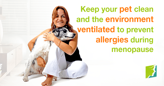 5 Tips to Prevent Allergies from Pets during Menopause