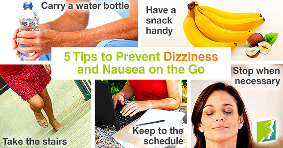 5 Tips to Prevent Dizziness and Nausea on the Go