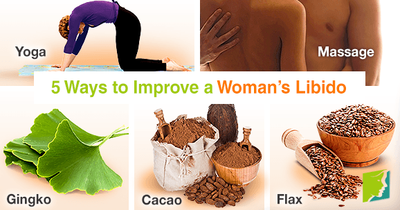 5 Ways to Improve a Woman's Libido