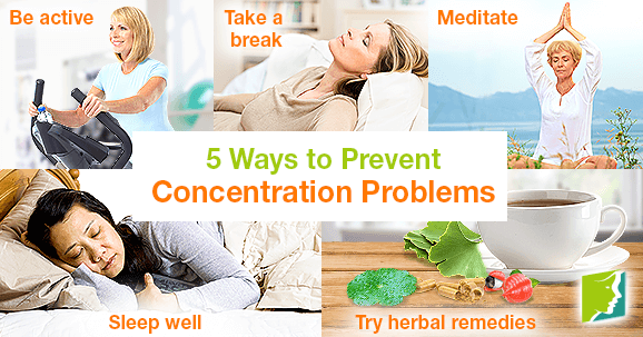 5 Ways to Prevent Concentration Problems
