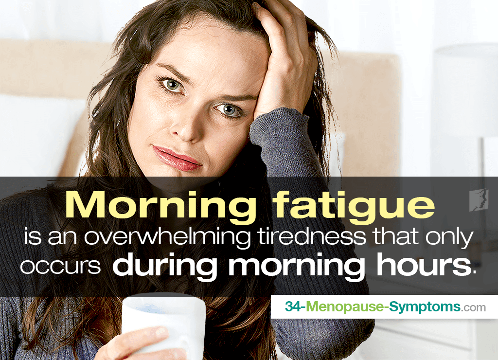 Morning fatigue