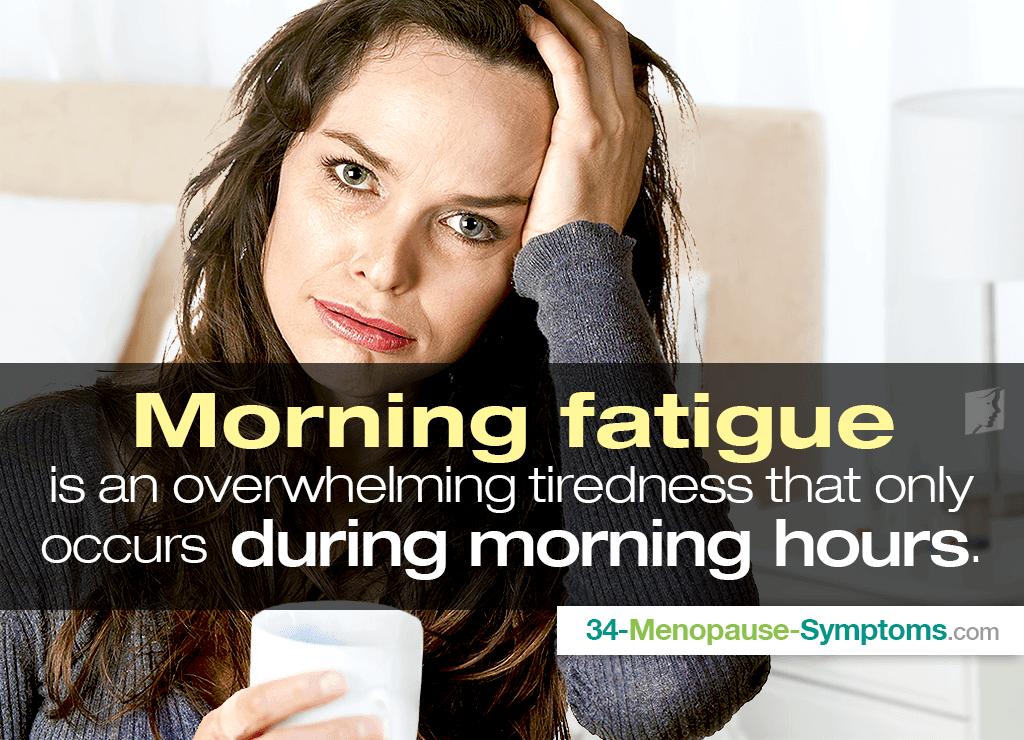 Morning fatigue