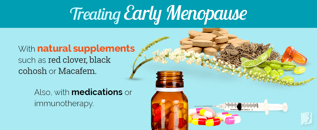 Treating early menopause
