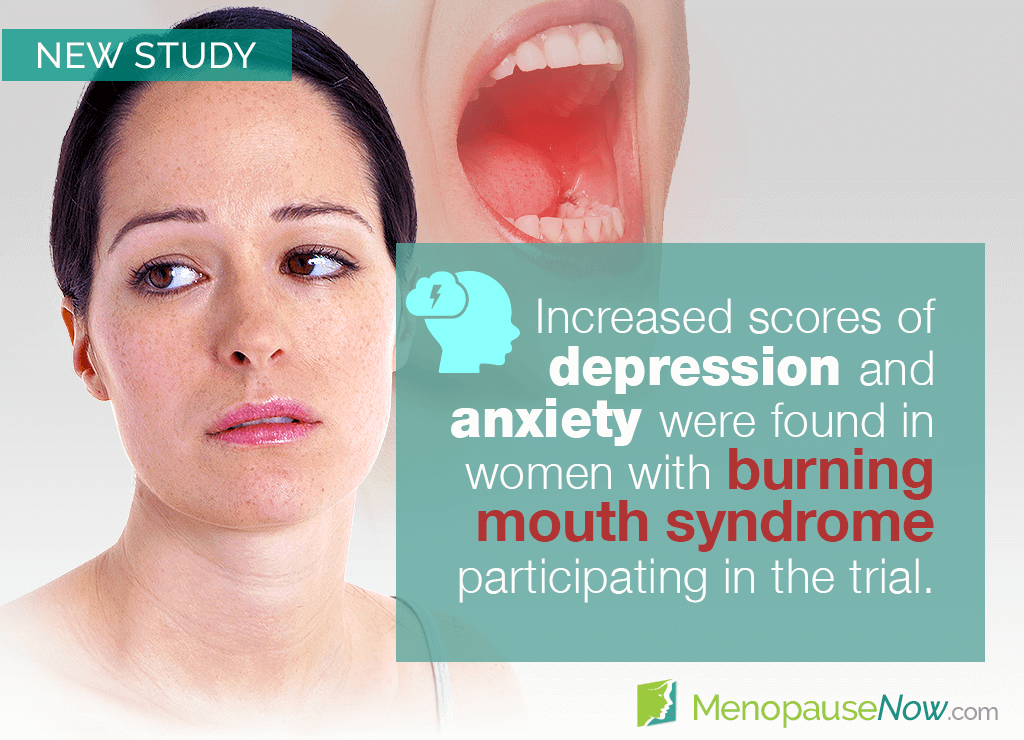 Study: Menopause depression and anxiety linked to burning mouth syndrome