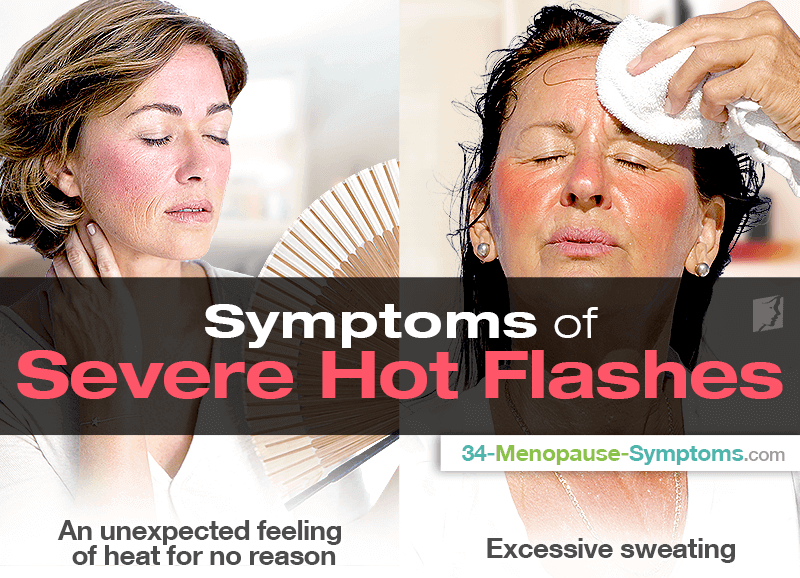 Symptoms of Severe Hot Flashes