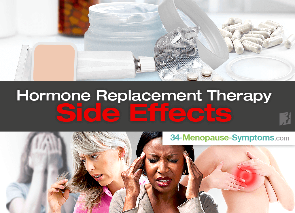 hormone replacement therapy side effects