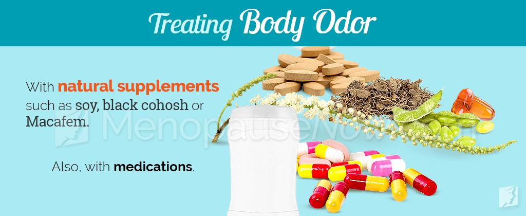 Treating body odor