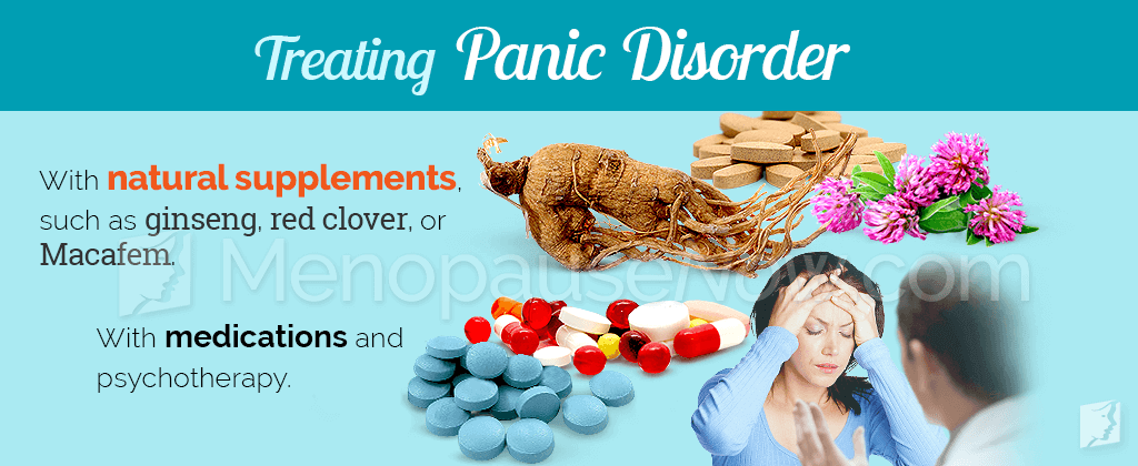 Treating panic disorders
