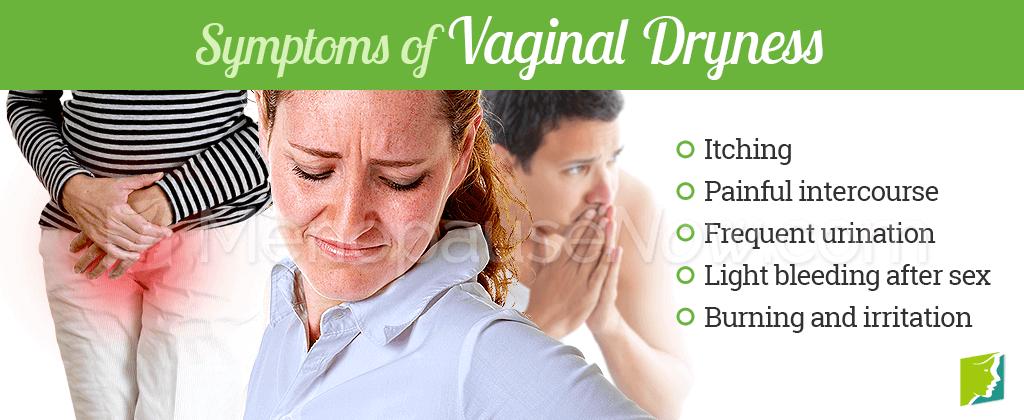 Symptoms of vaginal dryness