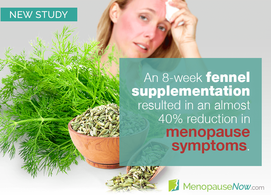 Study: Efficacy of fennel for menopause symptoms shown in a trial