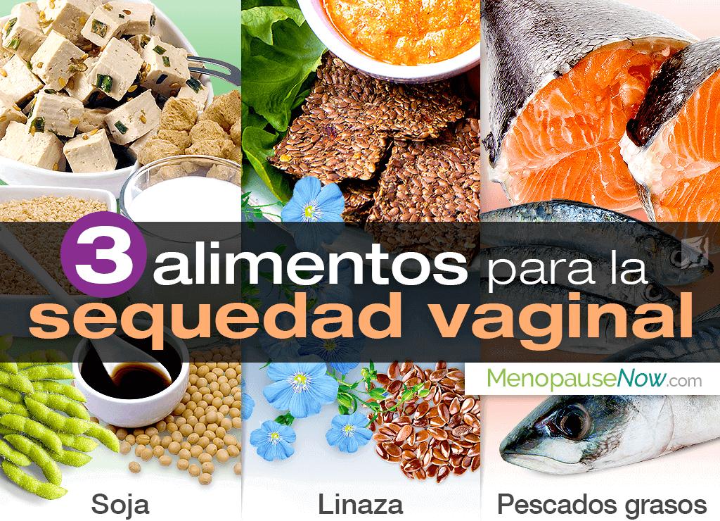 3 alimentos para la sequedad vaginal