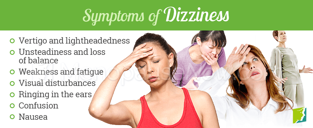 Symptoms of dizziness