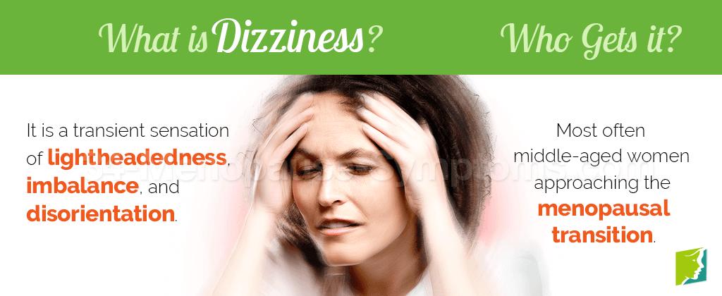 Dizziness Symptom Information | Menopause Now