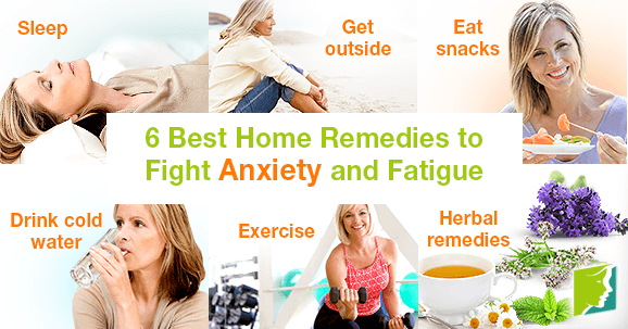6 Best Home Remedies to Fight Anxiety and Fatigue