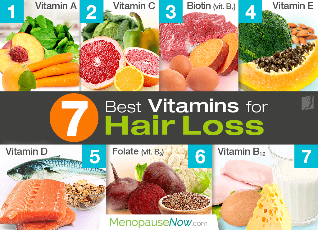 7 Best Vitamins for Preventing Hair Loss