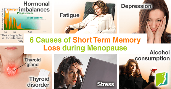 6 Causes of Short Term Memory Loss during Menopause