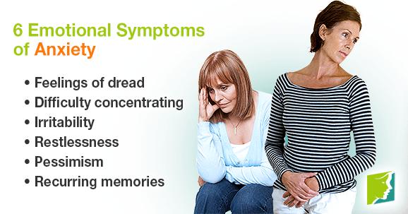 6 Emotional Symptoms of Anxiety