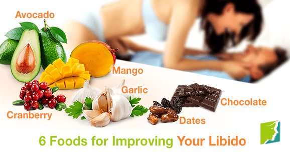 6 Foods for Improving Your Libido