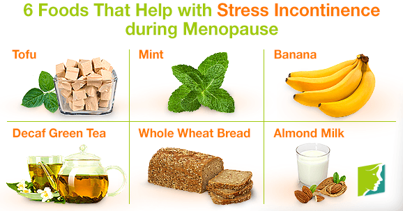 6 Foods That Help with Stress Incontinence during Menopause