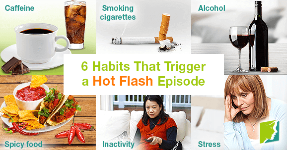 6 Habits That Trigger a Hot Flash Episode