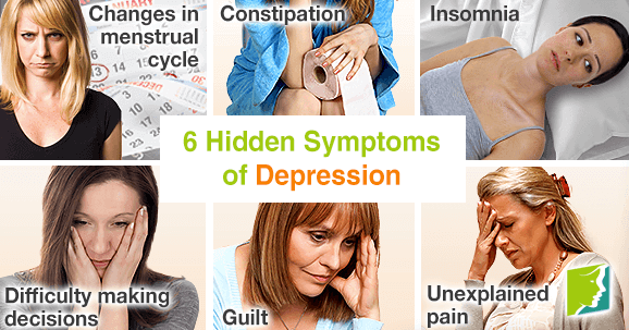 6 Hidden Symptoms of Depression