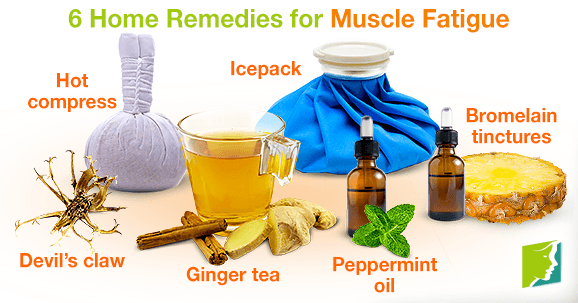 6 Home Remedies for Muscle Fatigue