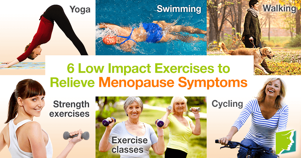 6 Low Impact Exercises to Relieve Menopause Symptoms