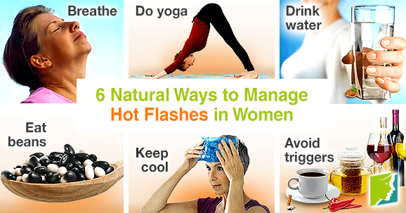 6 Natural Ways to Manage Hot Flashes in Women