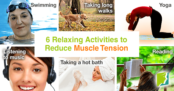 6 relaxing activities to reduce muscle tension