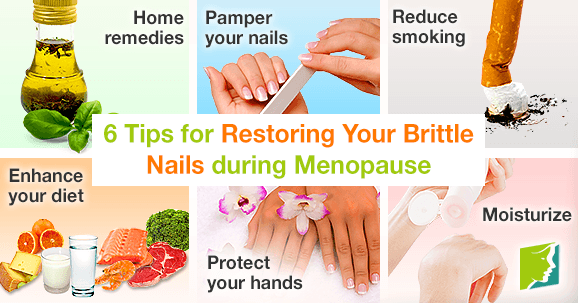 6 Tips for Restoring Your Brittle Nails during Menopause
