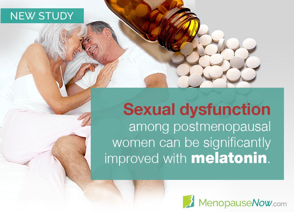 Study: Melatonin improves sexual function in postmenopausal women
