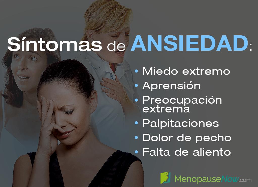 Perimenopausia y ansiedad en mujeres de 46 años