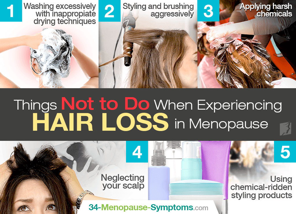 what not to do for menopause hair loss