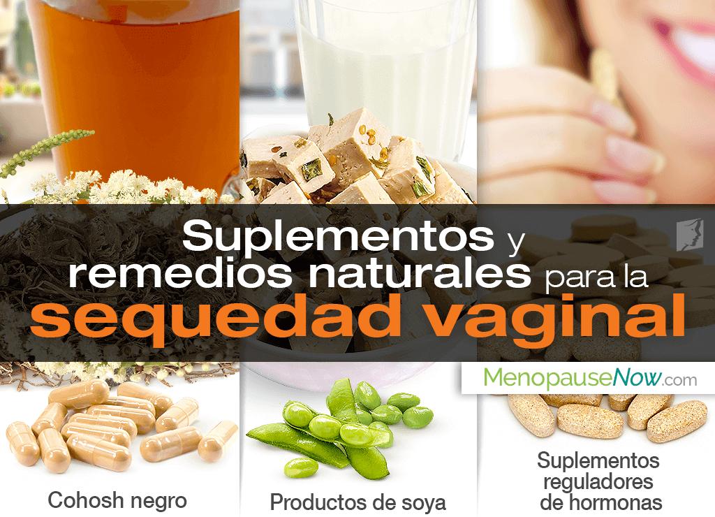 Suplementos y remedios naturales para la sequedad vaginal