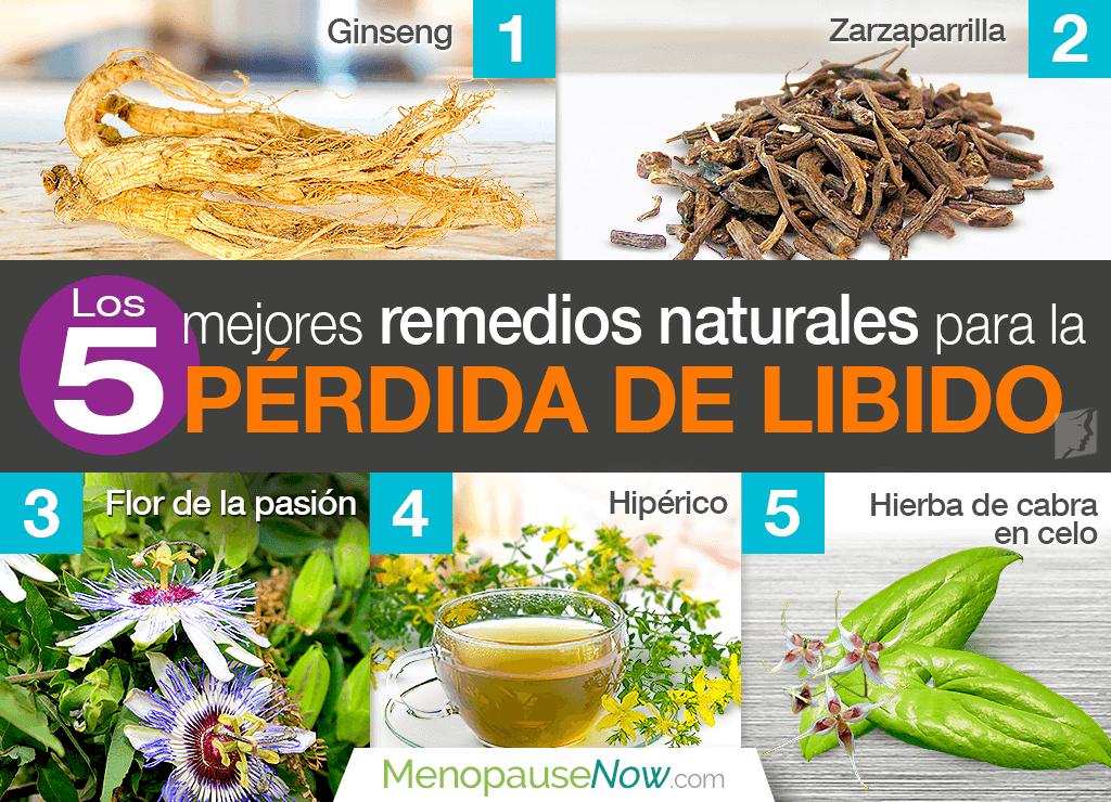 Los 5 mejores remedios naturales para la pérdida de libido