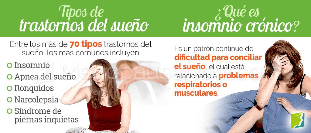Tipos de trastornos del sueño