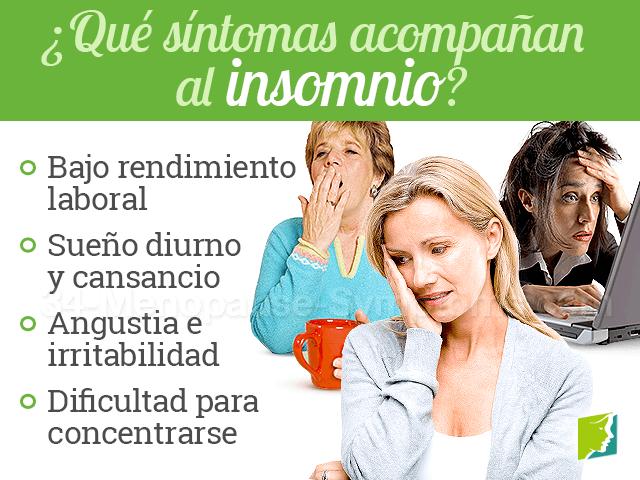 síntomas que acompañan a los problemas para dormir