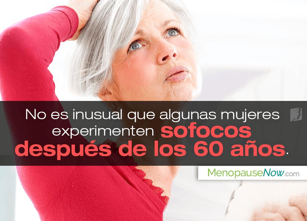 Sofocos después de la menopausia