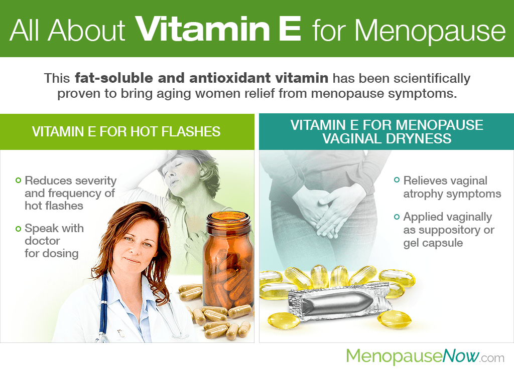 All About Vitamin E for Menopause