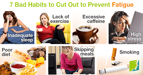 7 Bad Habits to Cut Out to Prevent Fatigue