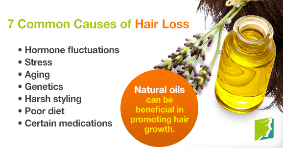 7 Common Causes of Hair Loss