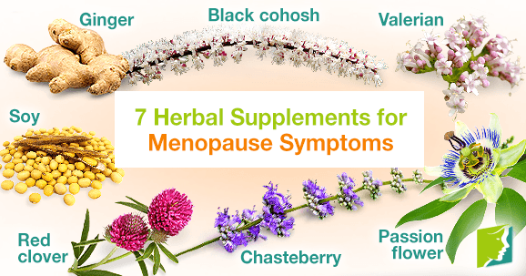 7 Herbal Supplements for Menopause Symptoms