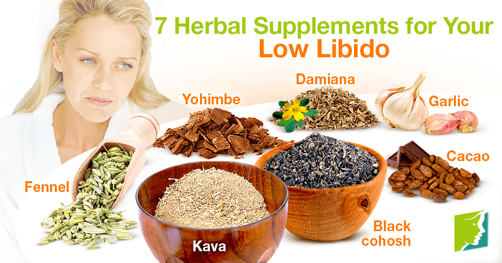 7 Herbal Supplements for Your Low Libido