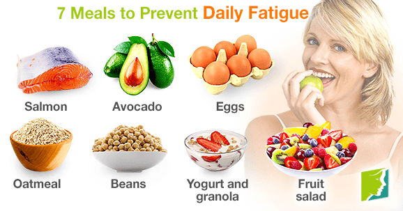 7 Meals to Prevent Daily Fatigue