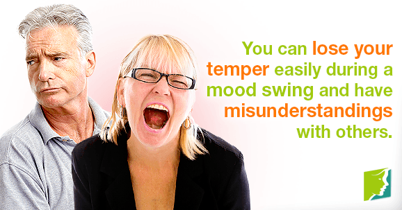 You can lose your temper easily during a mood swing and have misunderstandings with others