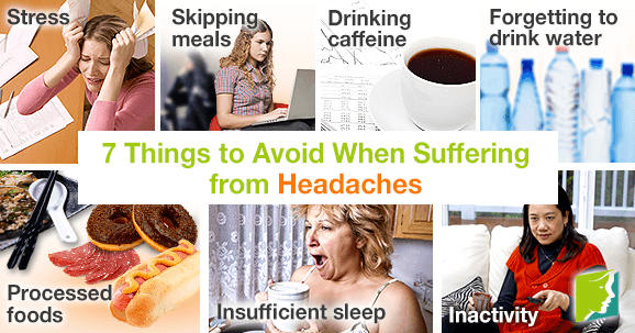 7 Things to Avoid When Suffering from Headaches