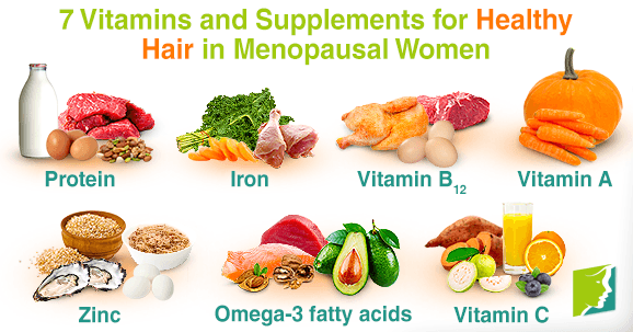 7 Vitamins and Supplements for Healthy Hair in Menopausal Women