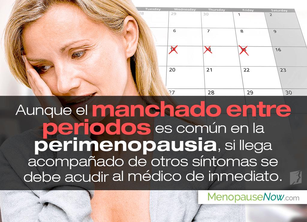 Sangrado intermenstrual en la perimenopausia