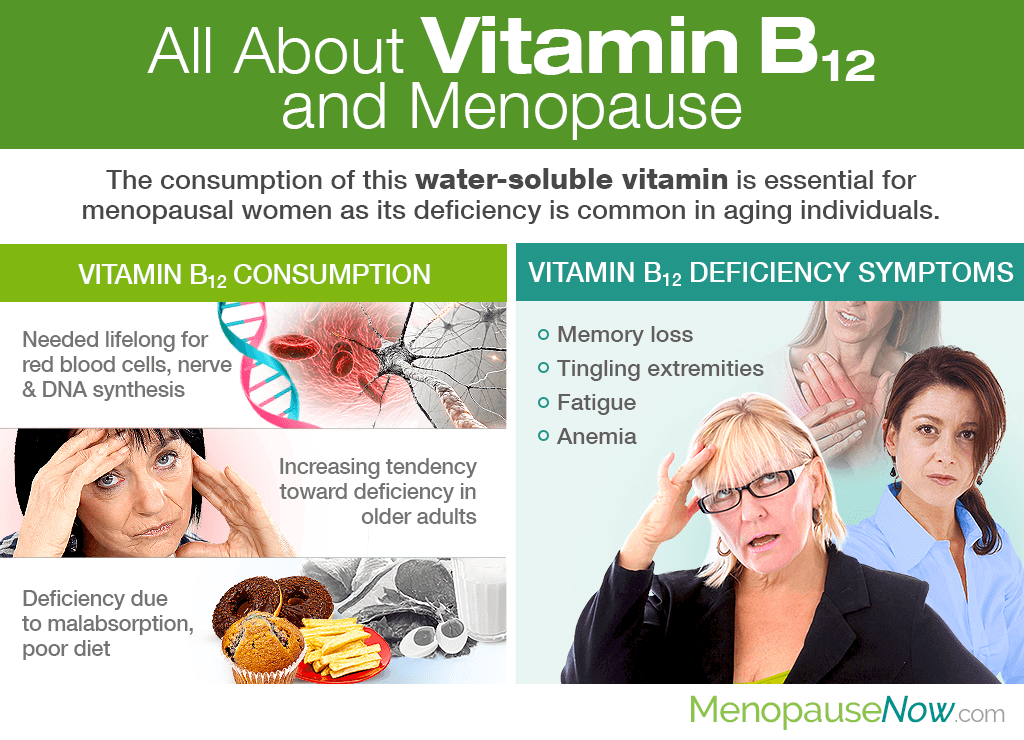 All About Vitamin B12 and Menopause