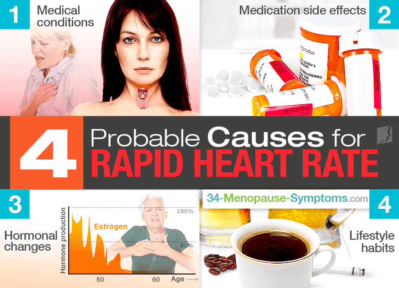 Fast Heartbeat: 4 Probable Causes for Rapid Heart Rate